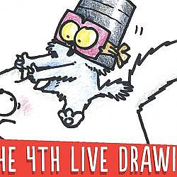 May The 4th Be With You - Simon's Cat LIVE Drawing