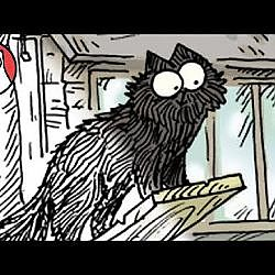 Black Cat Day Paints - Simon's Cat | CREATIVE